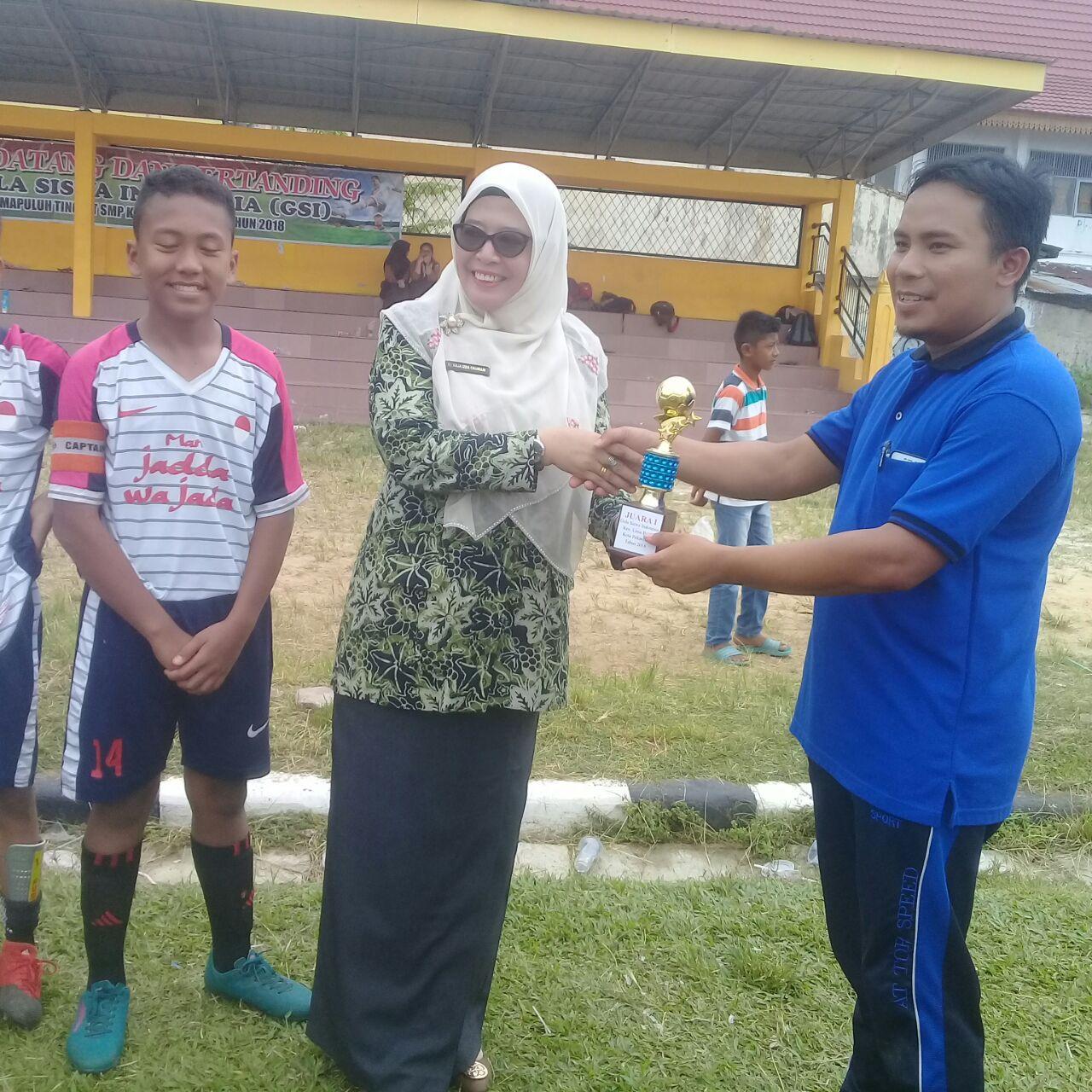 Juara I Gala Siswa Indonesia Kecamatan Limapuluh Pekanbaru