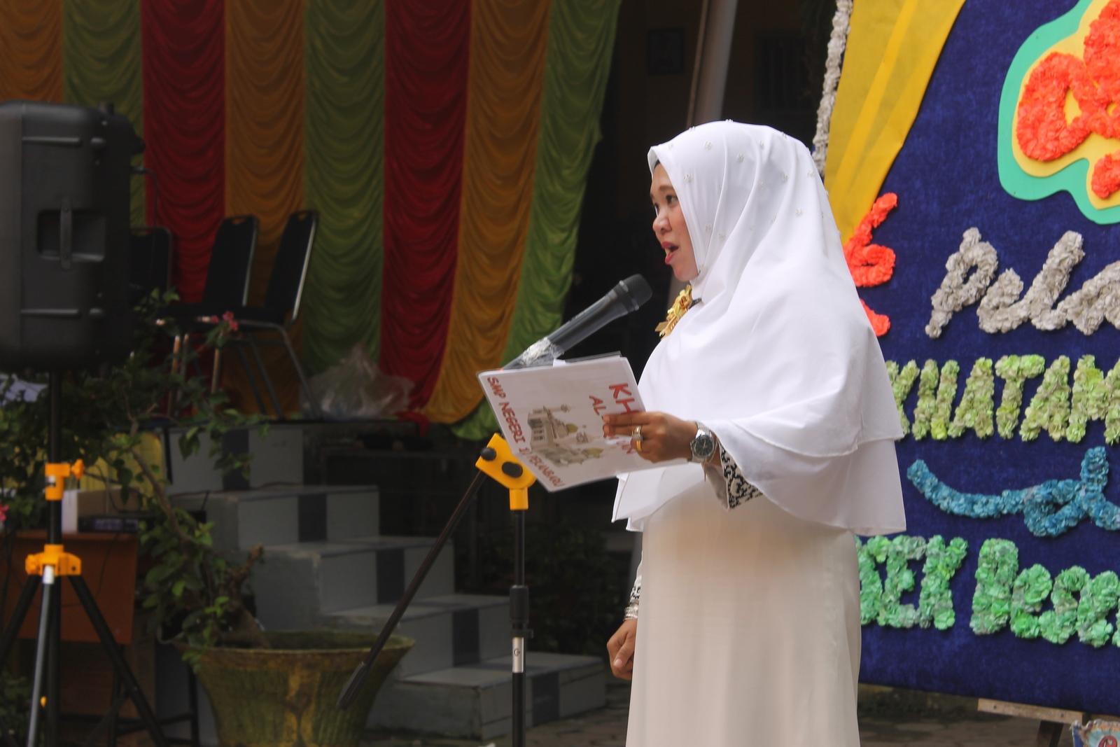 MC Acara Khatam Al Quran SMPN 10 Pekanbaru