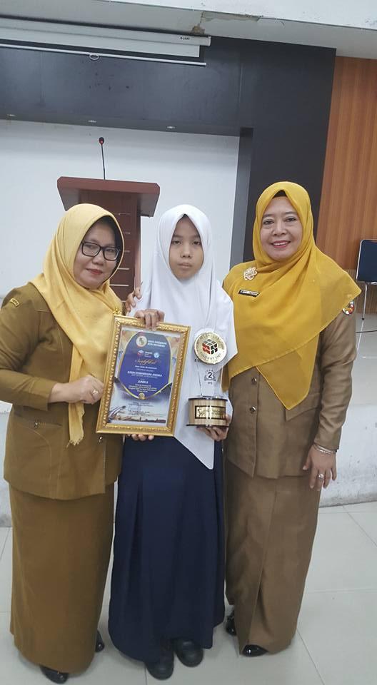 Juara II dalam Olimpiade IPS se-kota Pekanbaru